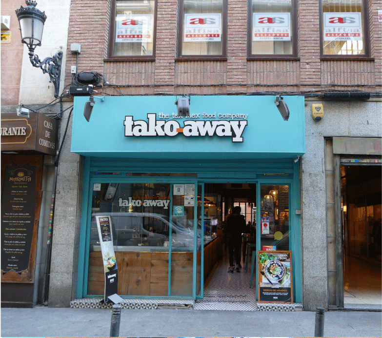 Tako Away Restaurante Mexicano - Entrada